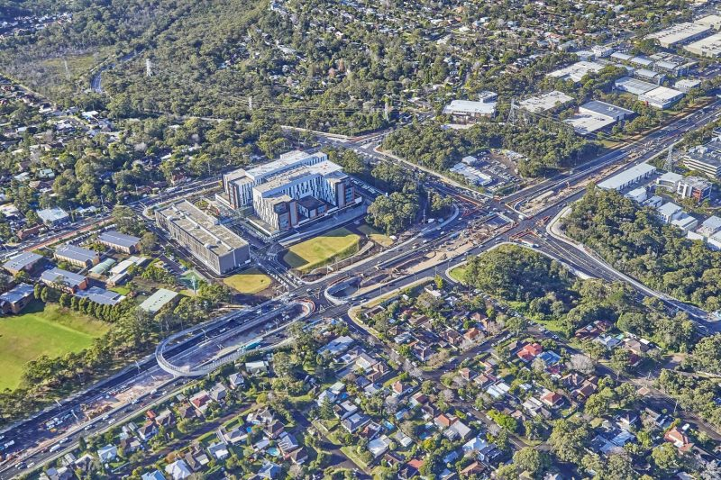 Ferrovial Agroman - Northern Beaches Hospital Road Upgrade 2